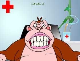 بازی عمل کشیدن دندان عقل (میمون)