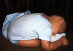 وقتی کودکان میخوابند+تصاویر