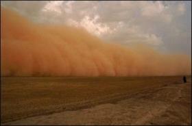 تکذیب آلودگی گرد و غبار به مواد رادیواکتیو